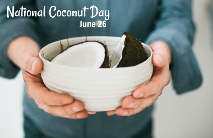 National Coconut Day June 26