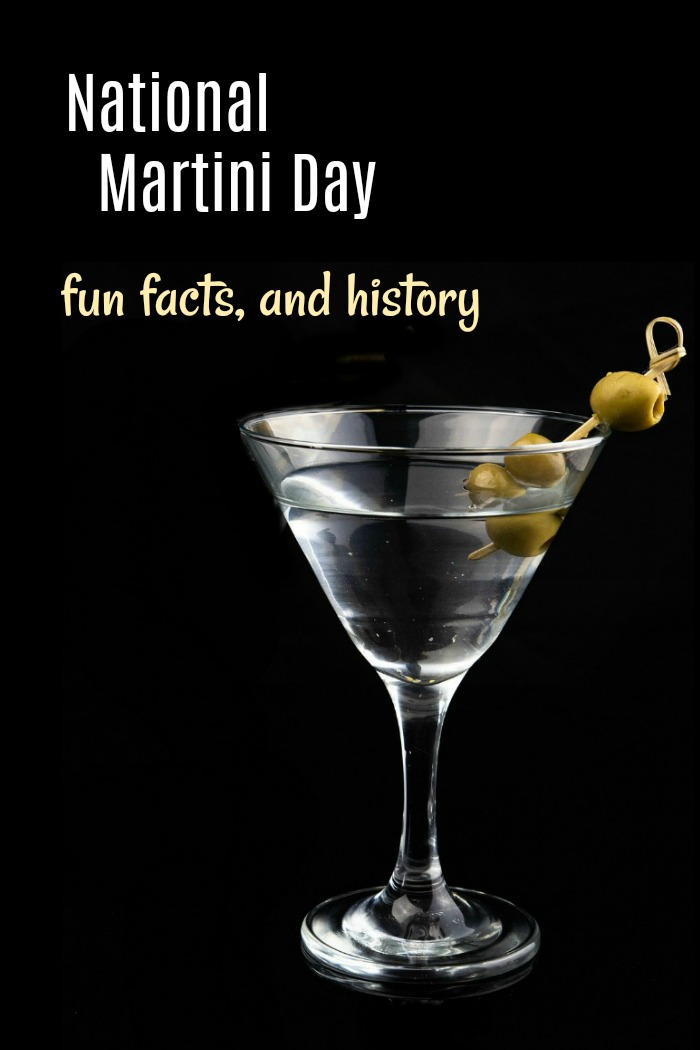 National Martini Day - fun facts and history