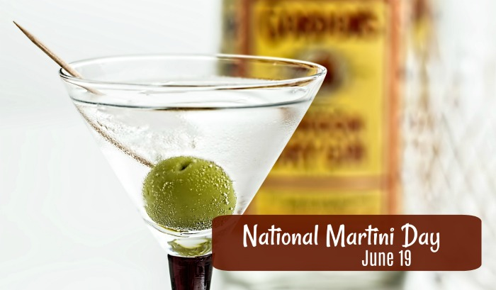 June 19 is National Martini Day