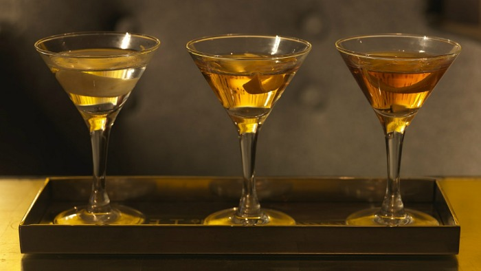 Find out about the diffrent types of martinis