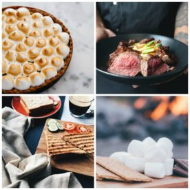 August food holidays for pie, steak, paninis and s'mores'