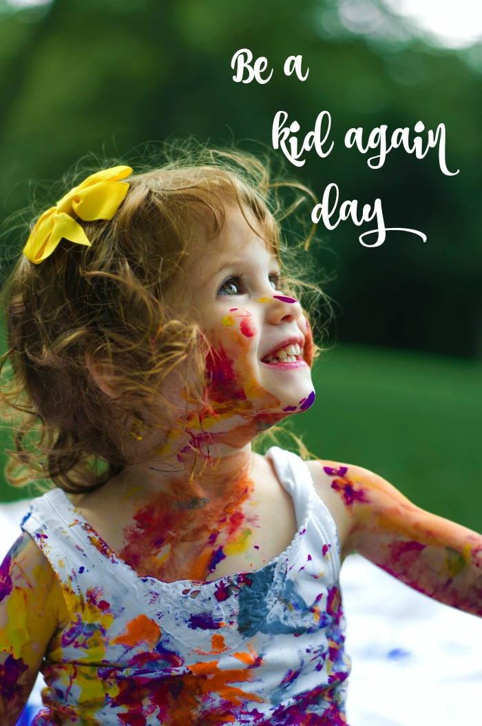 Be a Kid Again Day is celebrated on July 8