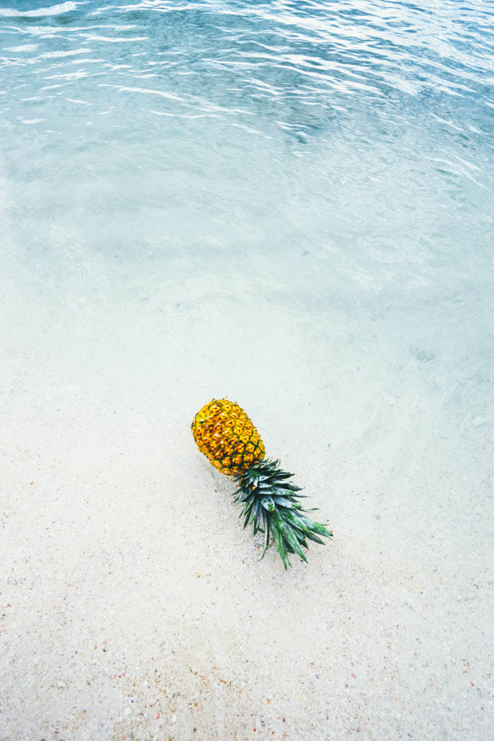 pineapple in puerto rico, the home of the pina colada