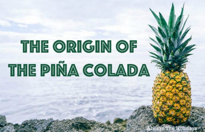 Discover the origin of the pina colada