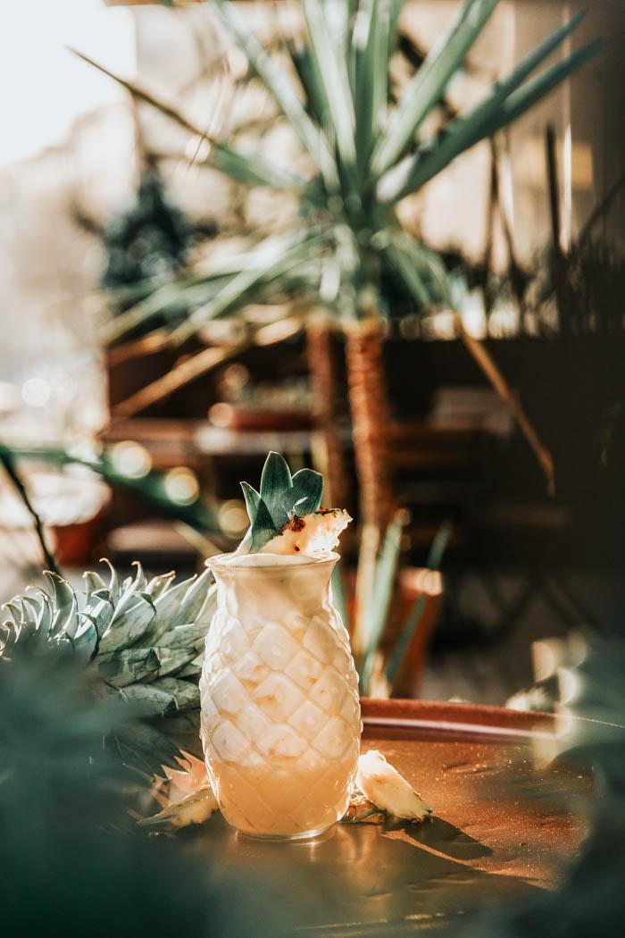a tropical pina colada