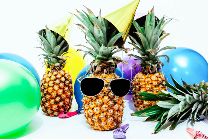 a pineapple party