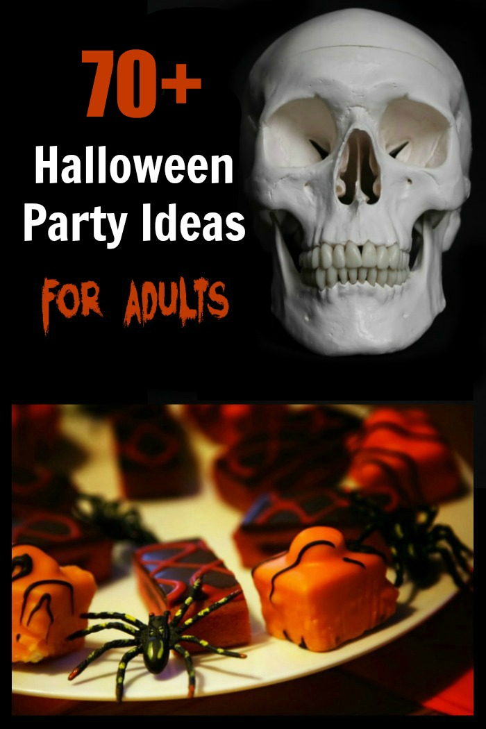 Halloween party ideas - food, drink, decor, games and music.
