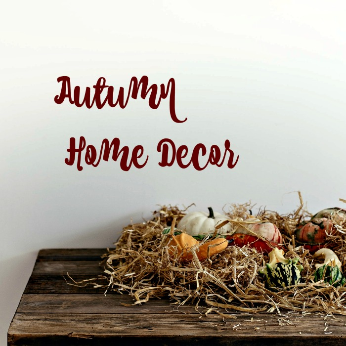 Autumn home decor
