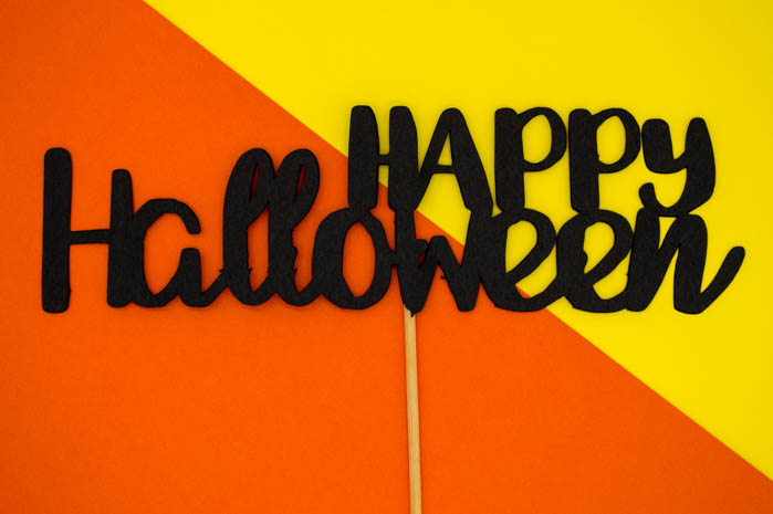 happy Halloween craft kid friendly
