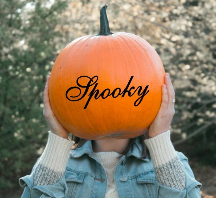 Pumpkin with decals