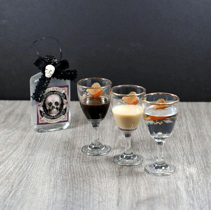Kahlua, Vodka and Bailey's Irish cream