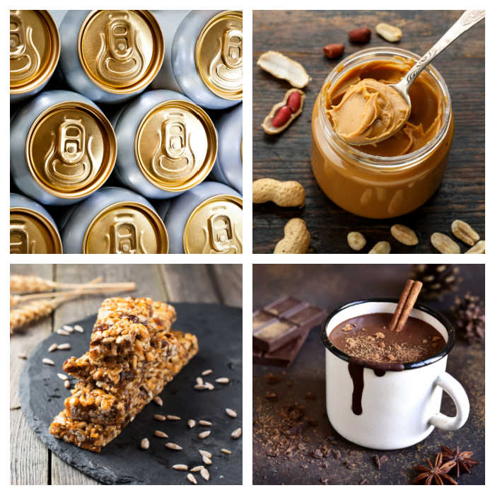 National Days of January celebrations - Beer can awareness, granola bars, peanut butter and hot chocolate all have their own days.